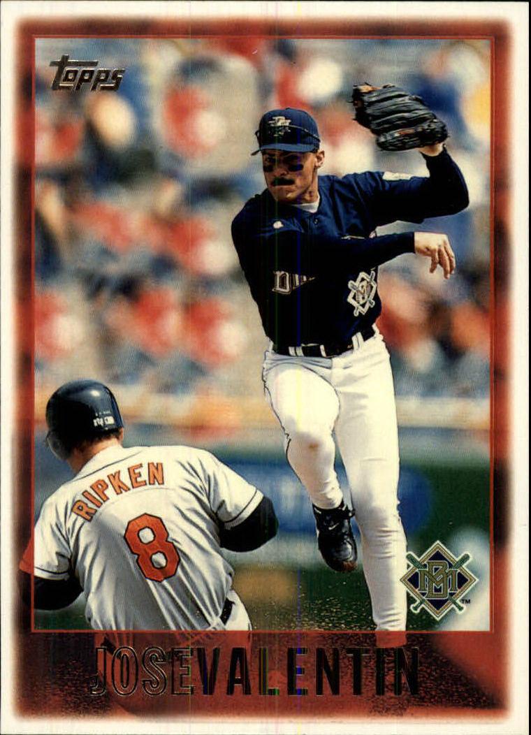 1997 Topps #4 Jose Valentin