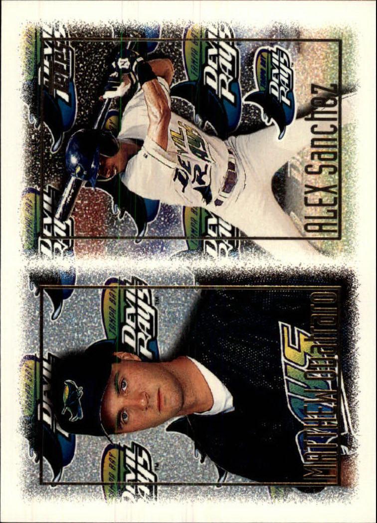 1997 Topps #252 A.Sanchez/M.Quatraro RC