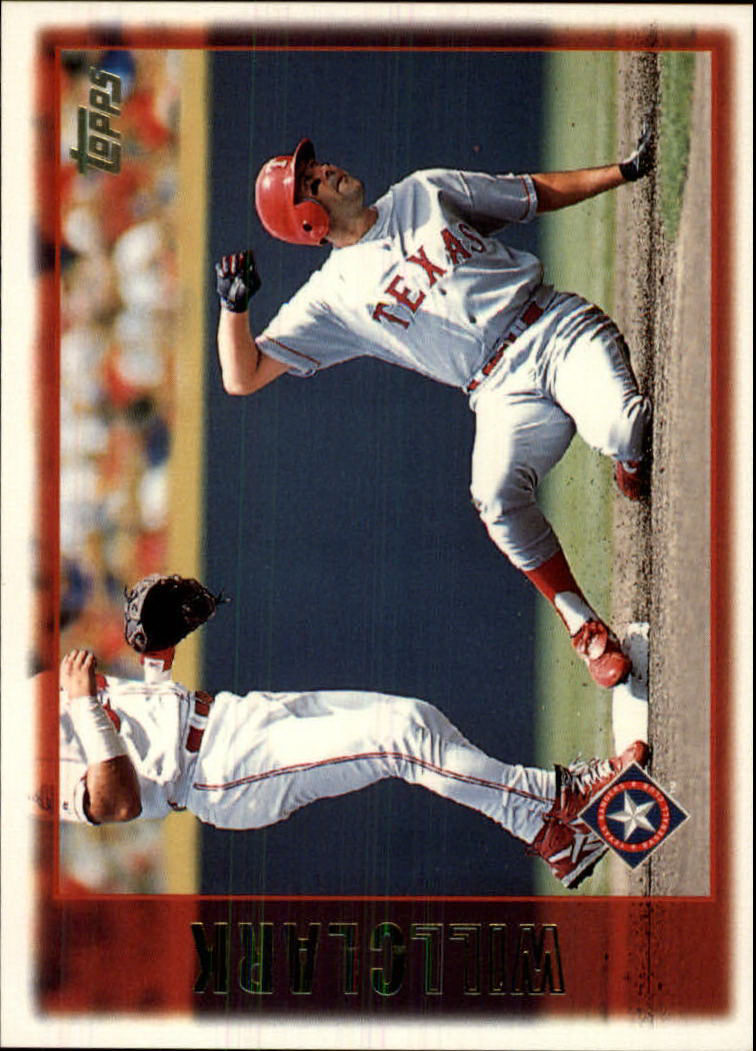 1997 Topps #387 Will Clark