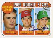 1997 Topps Stars Rookie Reprint Autographs #5 Rollie Fingers