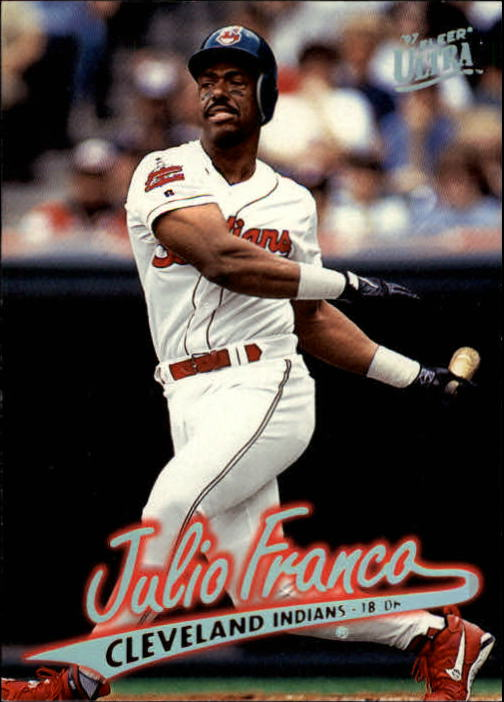 1997 Ultra #48 Julio Franco