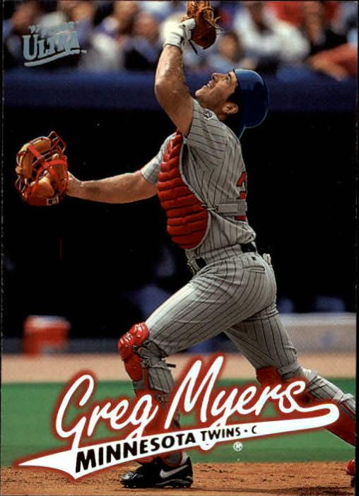1997 Ultra #91 Greg Myers