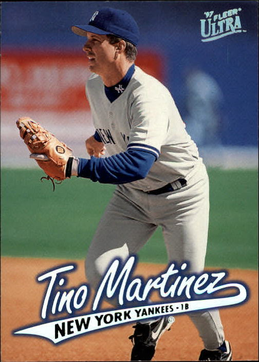 1997 Ultra #100 Tino Martinez