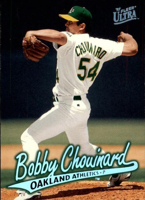 1997 Ultra #110 Bobby Chouinard