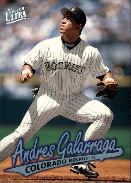 1997 Ultra #185 Andres Galarraga