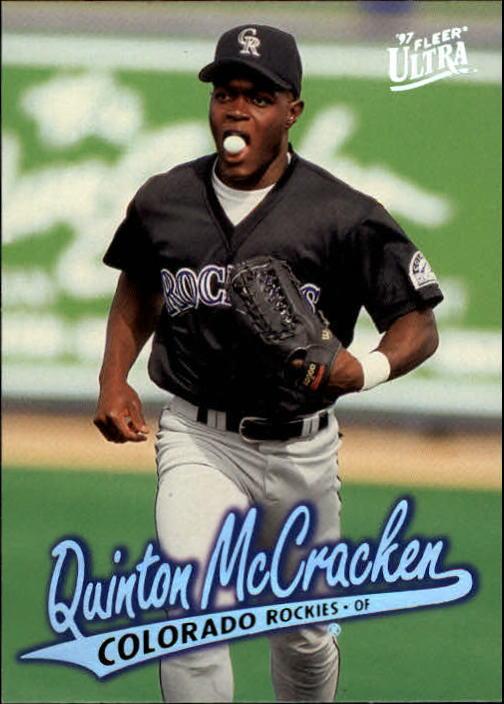 1997 Ultra #187 Quinton McCracken