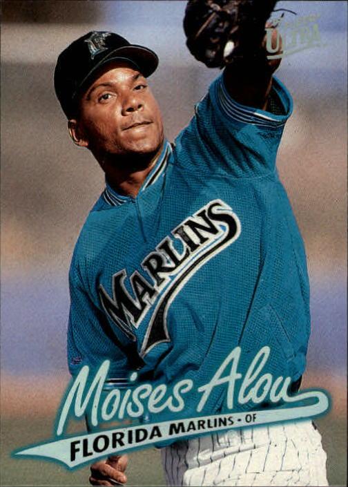 1997 Ultra #347 Moises Alou