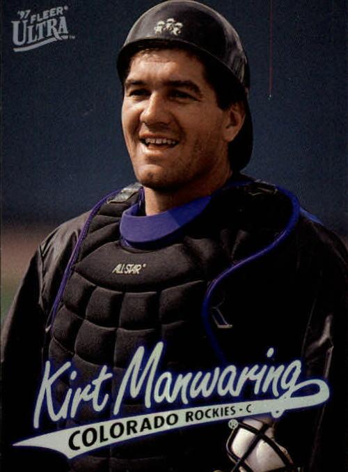 1997 Ultra #413 Kirt Manwaring