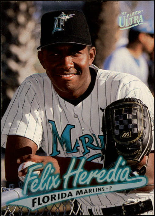 1997 Ultra #514 Felix Heredia RC