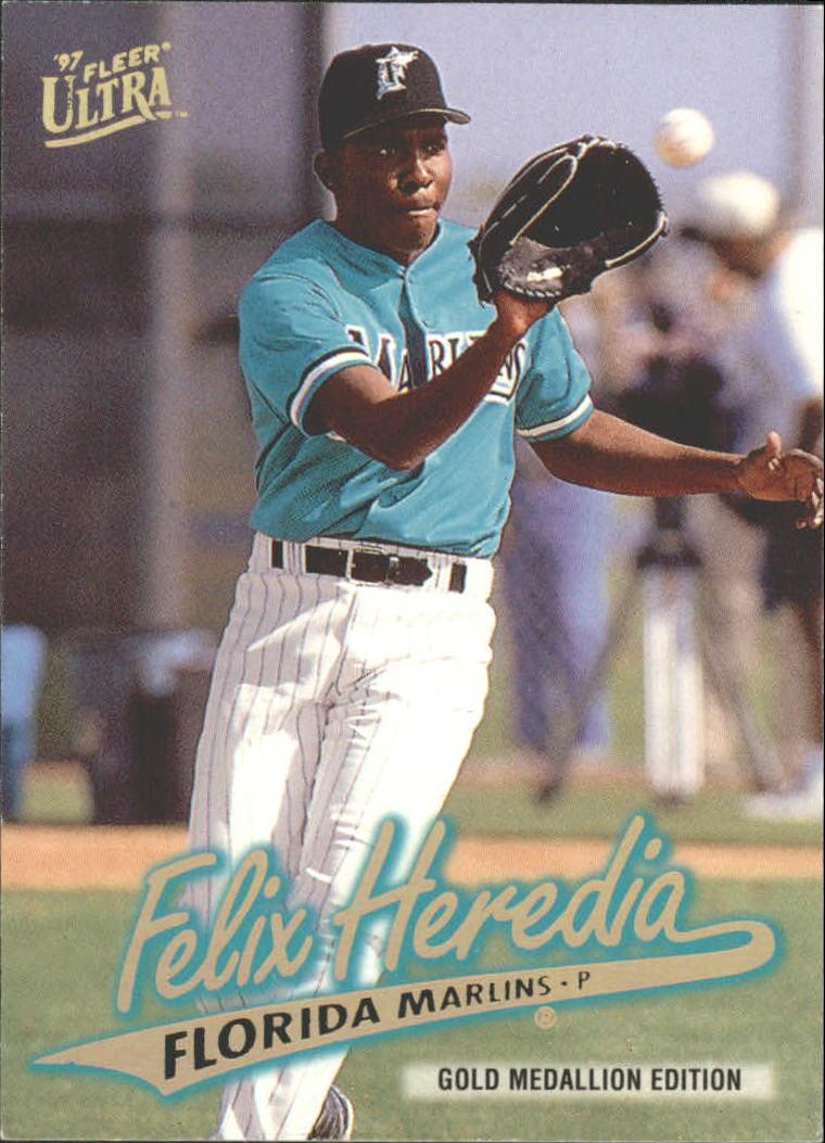 1997 Ultra Gold Medallion #514 Felix Heredia