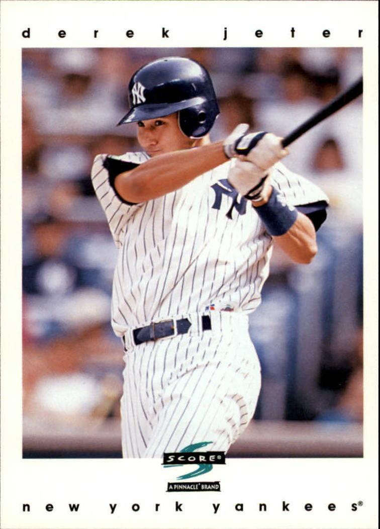 1997 Score #35 Derek Jeter