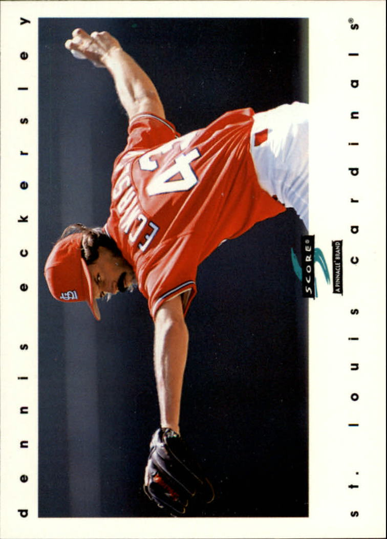 1997 Score #98 Dennis Eckersley