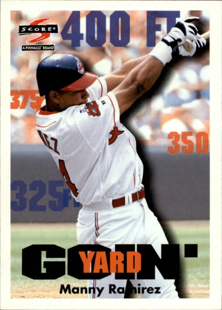 1997 Score #496 Manny Ramirez GY