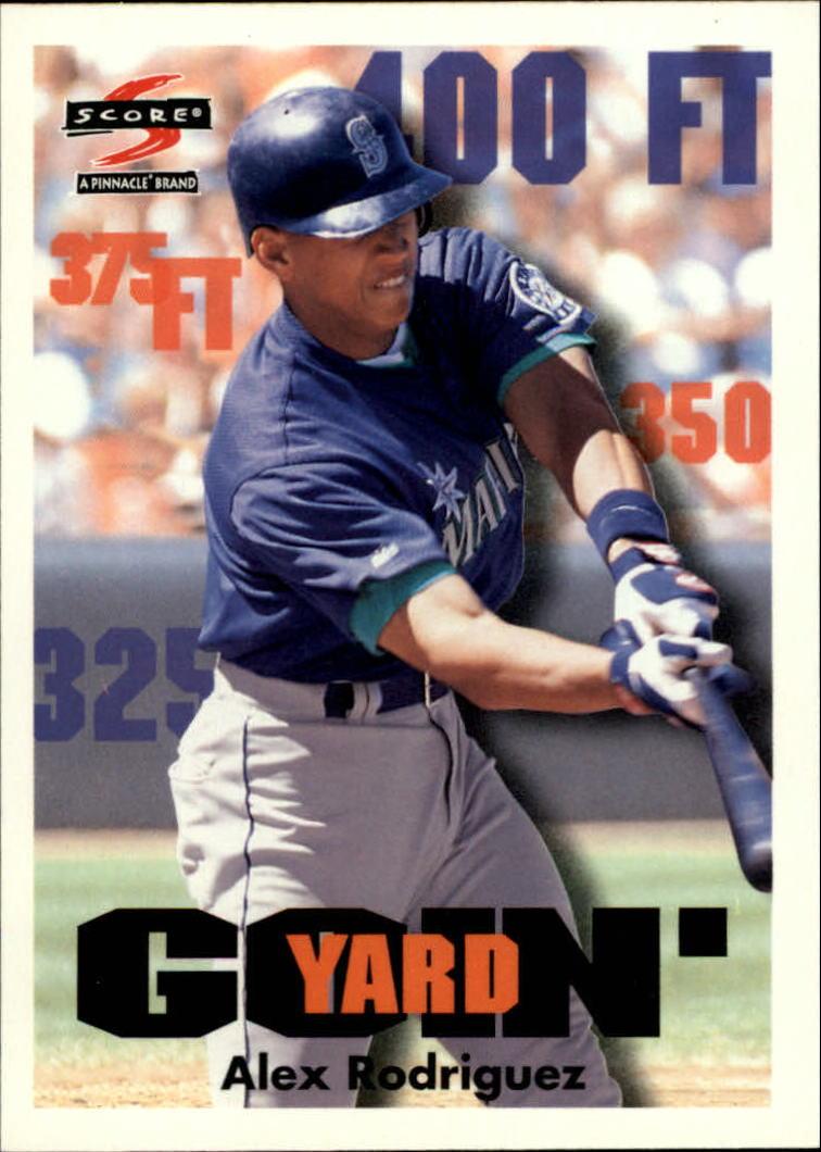 1997 Score #507 Alex Rodriguez GY