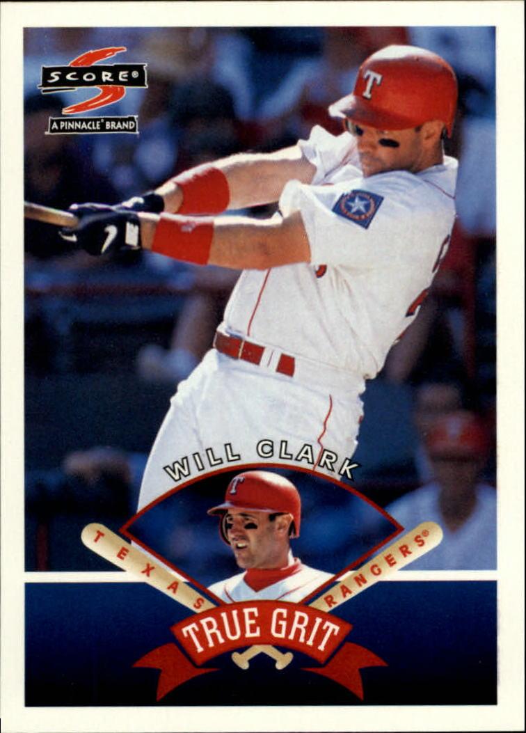 1997 Score #539 Will Clark TG