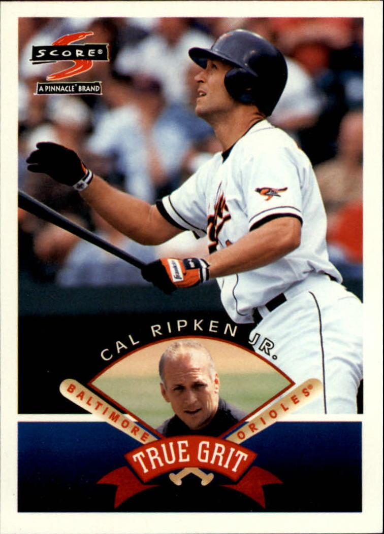 1997 Score #546 Cal Ripken TG