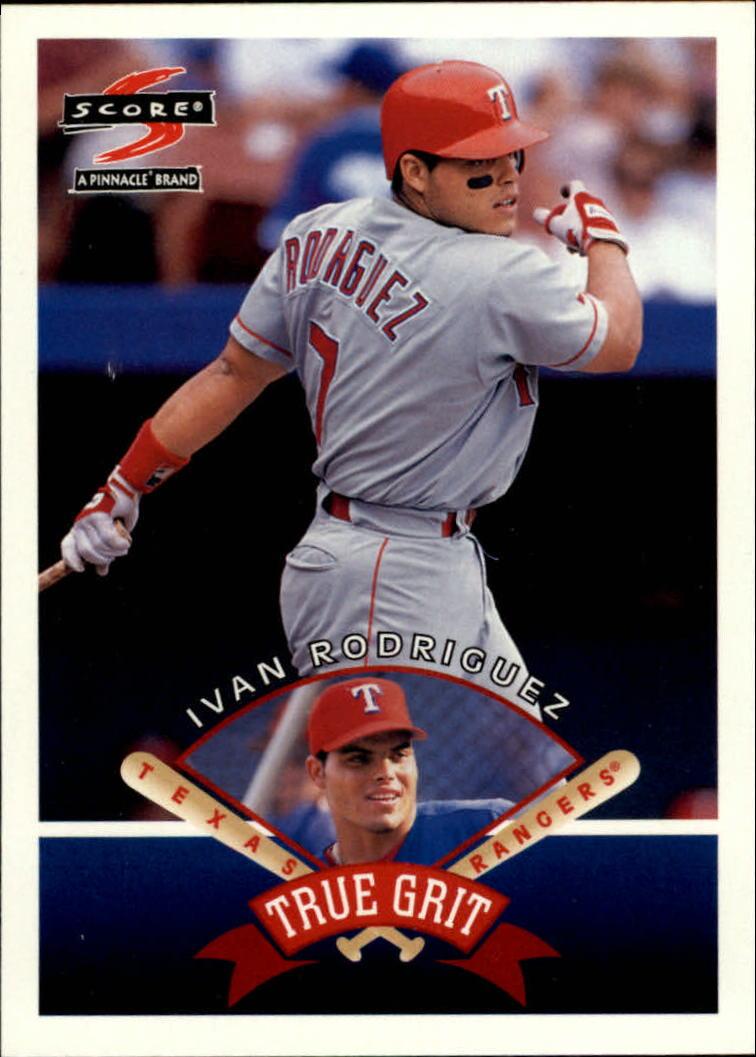 1997 Score #547 Ivan Rodriguez TG