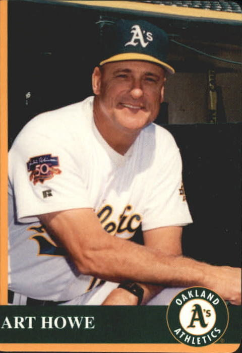 1997 A's Mother's #1 Art Howe MG