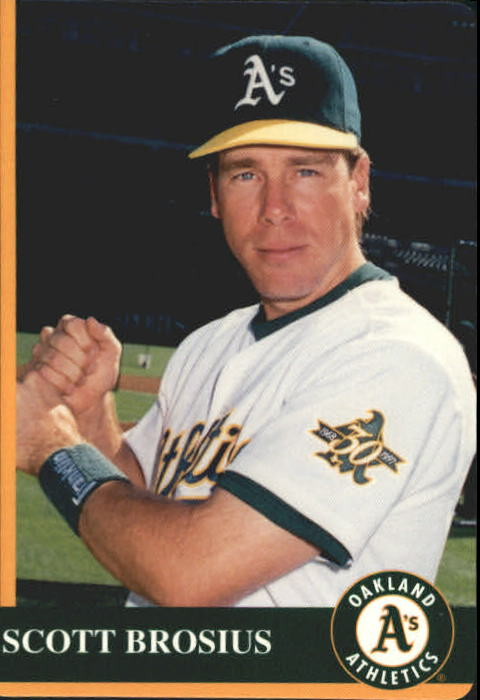 1997 A's Mother's #7 Scott Brosius