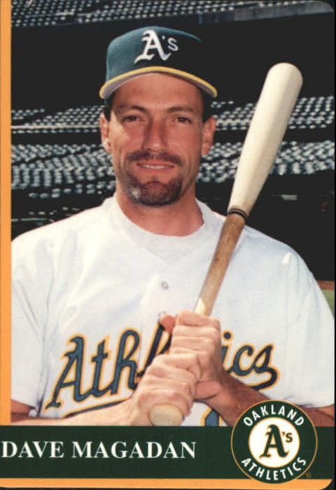 1997 A's Mother's #8 Dave Magadan