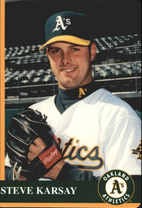 1997 A's Mother's #12 Steve Karsay