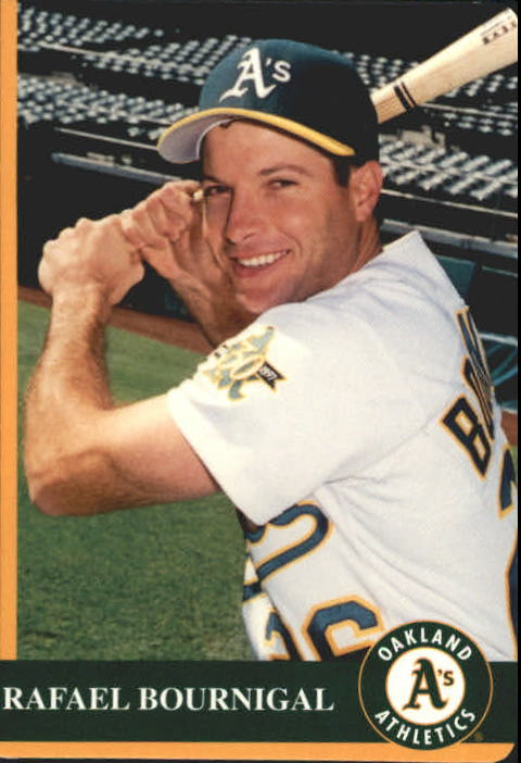 1997 A's Mother's #13 Rafael Bournigal