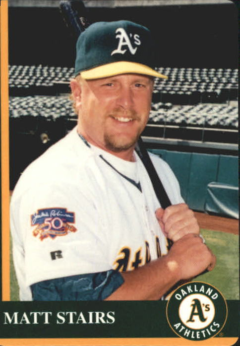 1997 A's Mother's #16 Matt Stairs