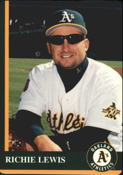 1997 A's Mother's #20 Richie Lewis