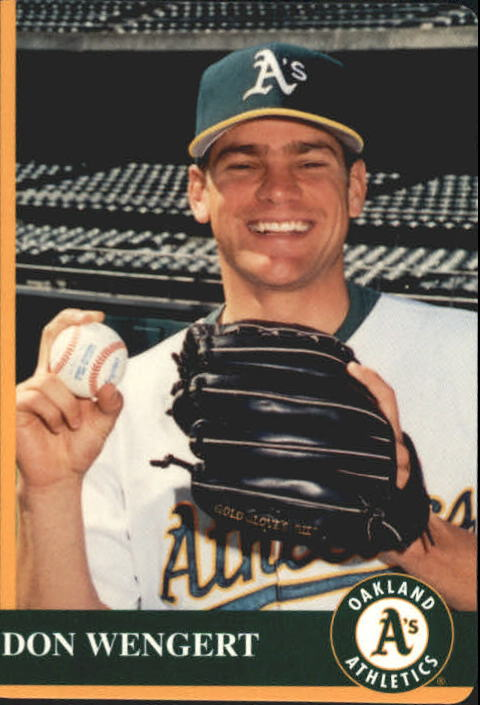 1997 A's Mother's #25 Don Wengert