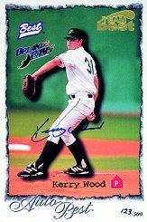 1997 Best Case Topper Autographs #11 Kerry Wood