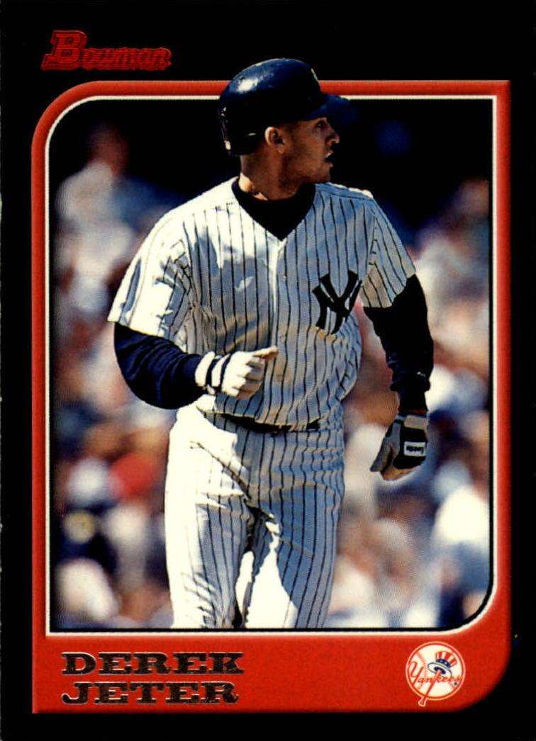 1997 Bowman #1 Derek Jeter New York Yankees Baseball Card