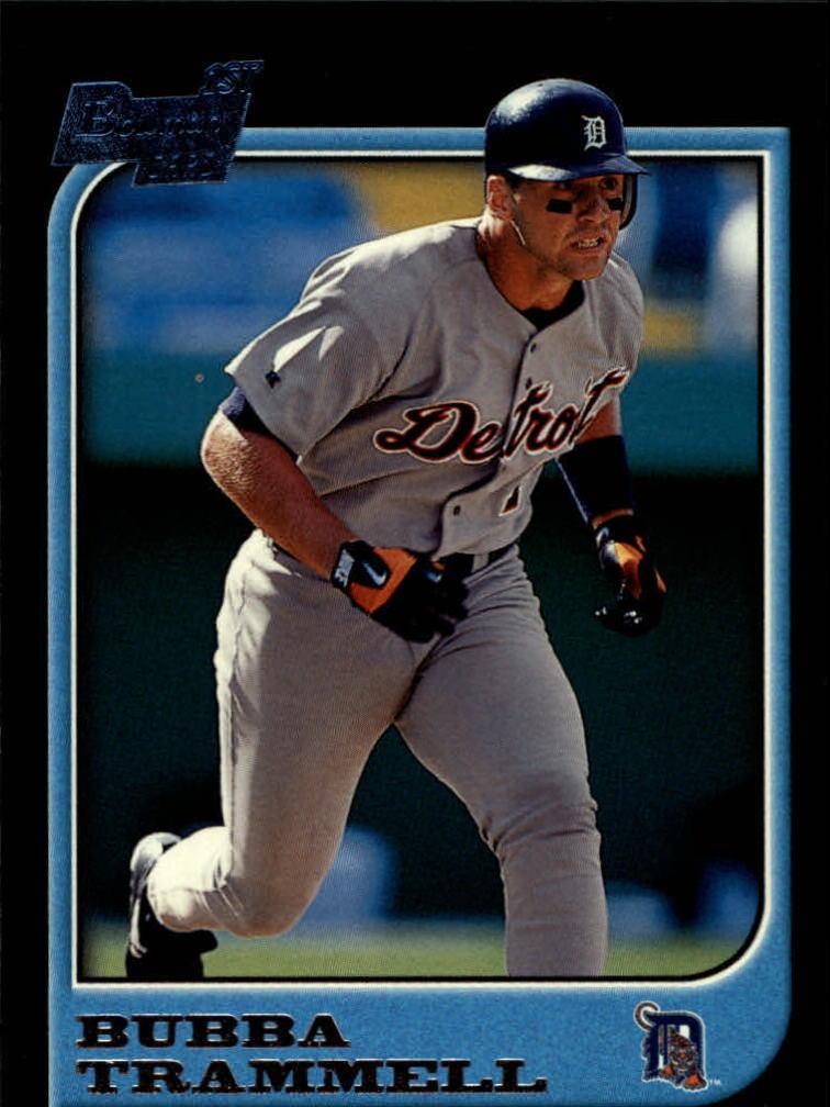 1997 Bowman #71 Bubba Trammell RC