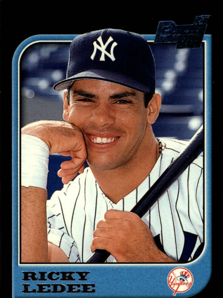 1997 Bowman #75 Ricky Ledee RC