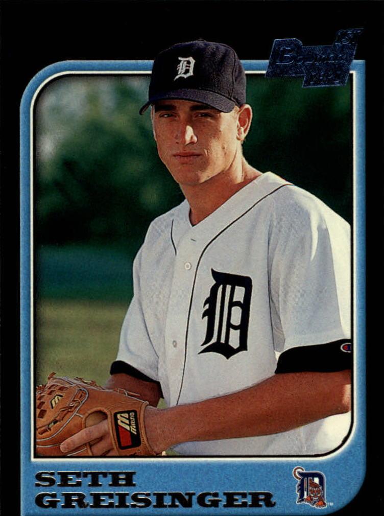 1997 Bowman #99 Seth Greisinger RC