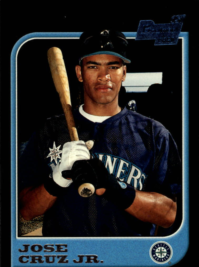 1997 Bowman #100 Jose Cruz Jr. RC