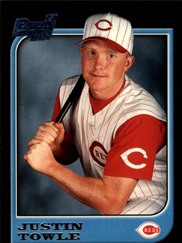 1997 Bowman #104 Justin Towle RC