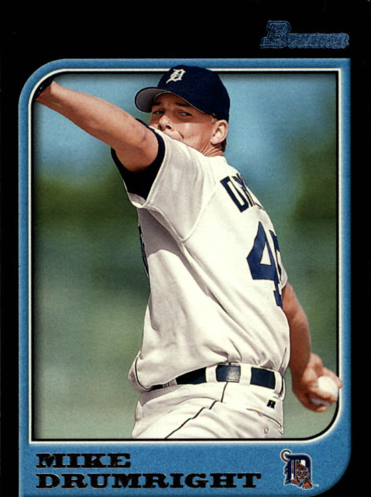 1997 Bowman #119 Mike Drumright RC