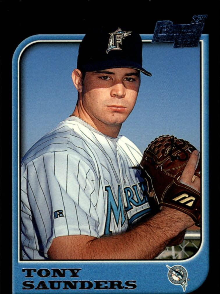 1997 Bowman #123 Tony Saunders RC