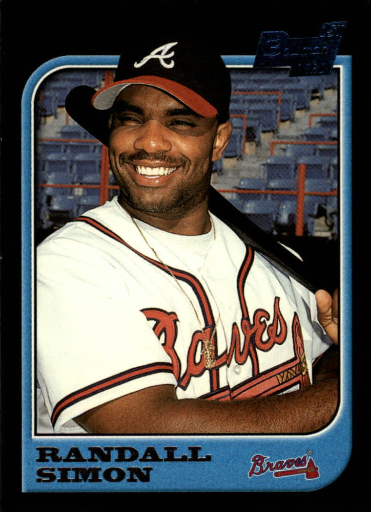 1997 Bowman #131 Randall Simon RC