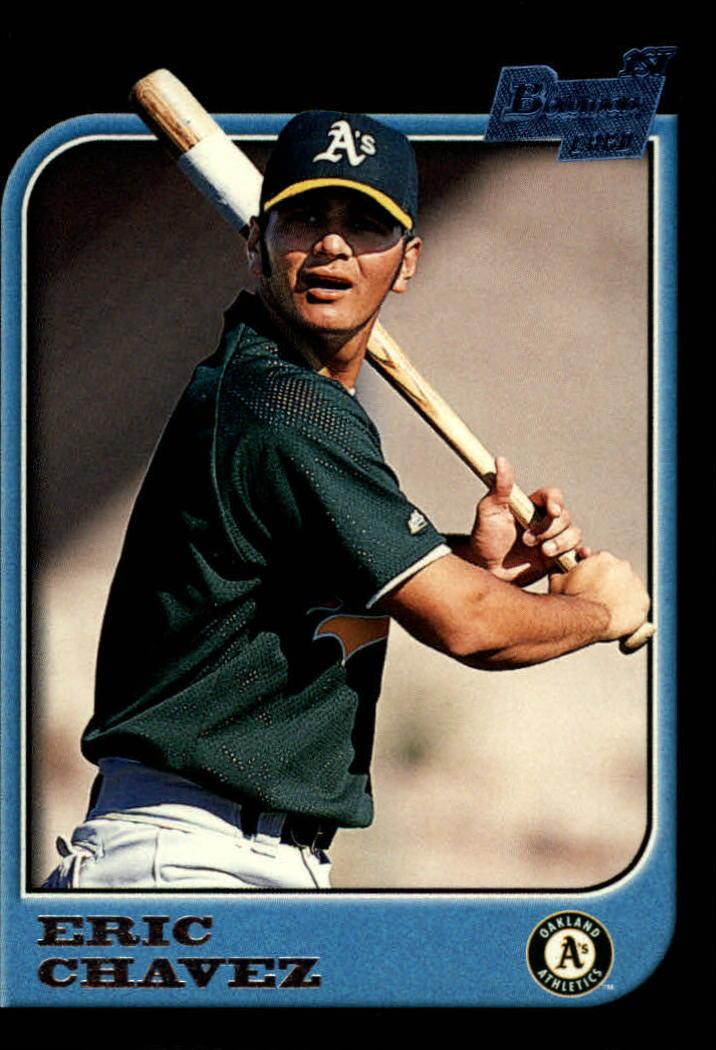 1997 Bowman #210 Eric Chavez RC