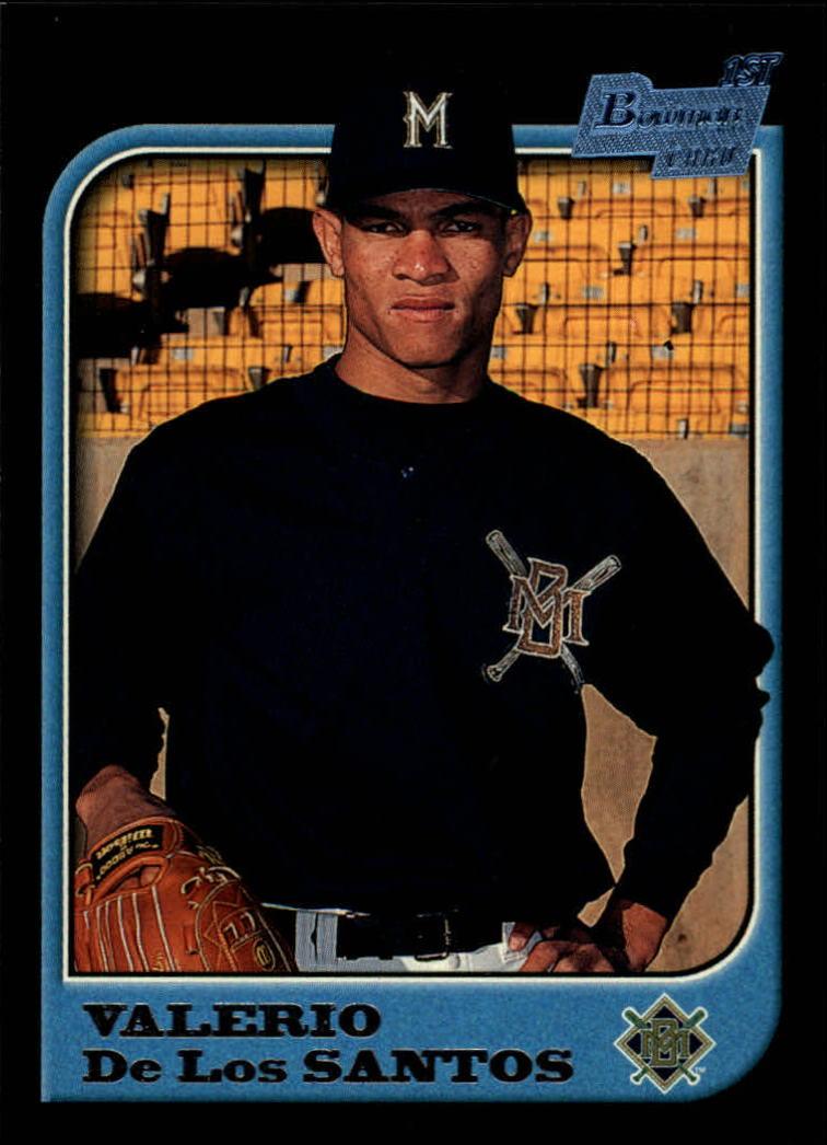 1997 Bowman #319 Valerio De Los Santos RC