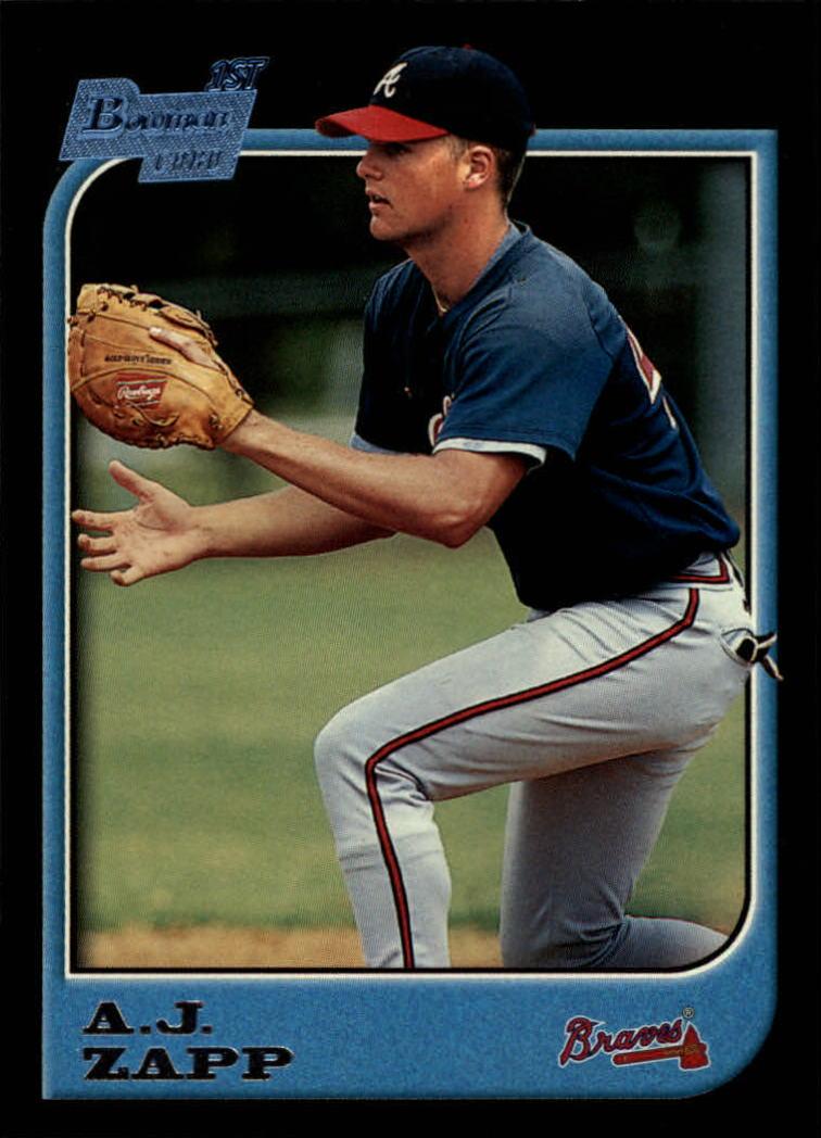 1997 Bowman #384 A.J. Zapp RC