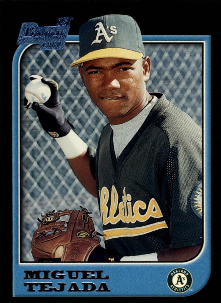 1997 Bowman #411 Miguel Tejada RC