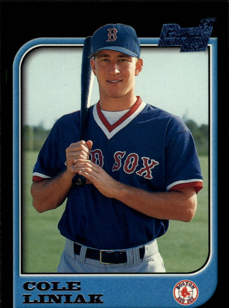 1997 Bowman #417 Cole Liniak RC
