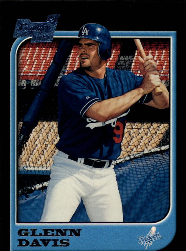 1997 Bowman #434 Glenn Davis RC