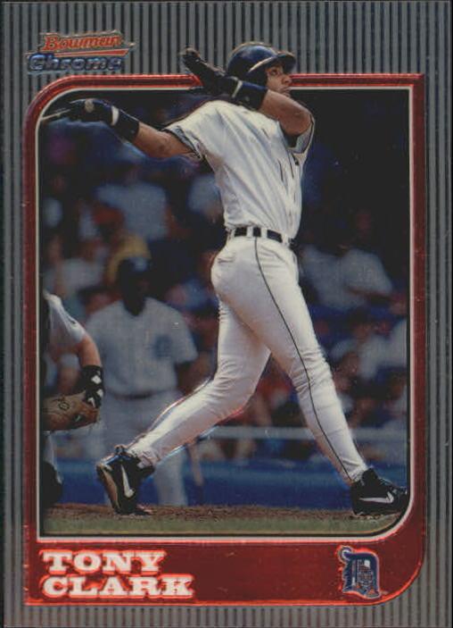 1997 Bowman Chrome #6 Tony Clark