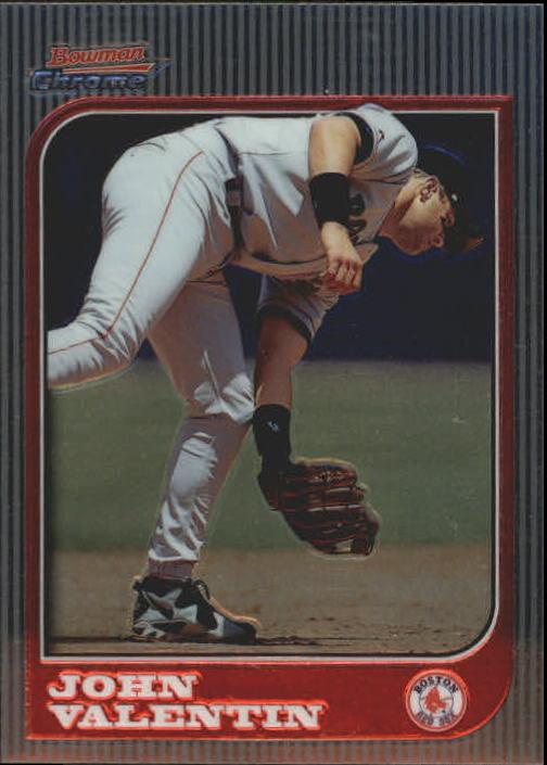 1997 Bowman Chrome #15 John Valentin