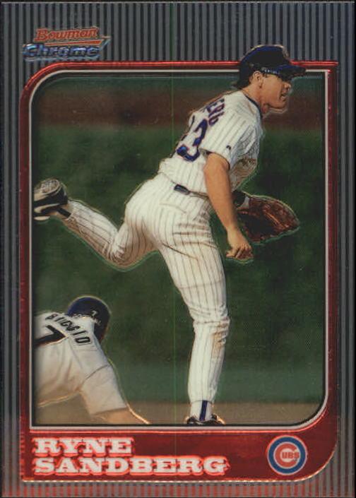 1997 Bowman Chrome #18 Ryne Sandberg