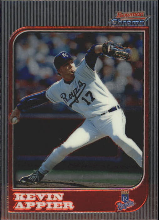 1997 Bowman Chrome #22 Kevin Appier