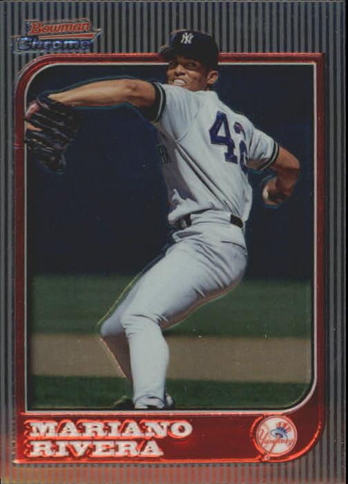 1997 Bowman Chrome #23 Mariano Rivera
